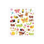 Multicoloured Stickers-Bugs
