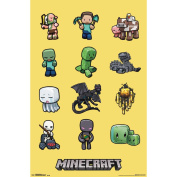Minecraft - Characters Poster Print