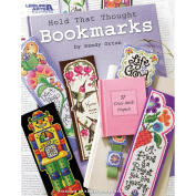 Leisure Arts-Hold That Thought Bookmarks