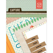 Capture Mini Snippets Single-Sided Cardstock Cards 7.6cm x 10cm