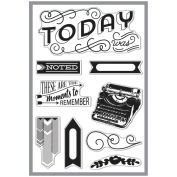 Basic Grey Capture Clear Stamps By Hero Arts-Moments To Remember