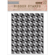 Basic Grey Highline Cling Stamps By Hero Arts-Geometric Background