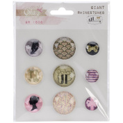 All Dolled Up Giant Rhinestones 9/Pkg-