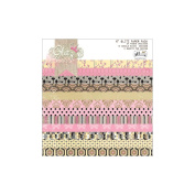 All Dolled Up Paper Pad 15cm x 15cm 24/Sheets-12 Double-Sided Designs/2 Each