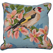 Gold Finch And Blossom Tapestry Kit-38cm - 1.9cm x 40cm