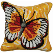 Butterfly Cushion Tapestry Kit-38cm - 1.9cm x 40cm