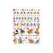 Multicoloured Stickers-Cats Meow