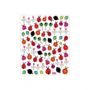 Multicoloured Stickers-Ladybugs