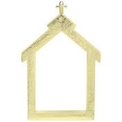 Gold Church Freme W/backing-3-1/4x2-3/8 400723 Aunt Marthas
