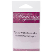 Magenta Cling Stamps 7.6cm x 8.9cm -Beautiful Things