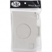 Maya Road Die-Cut Chipboard Album 5.5inX7.190cm -Oh Snap Camera