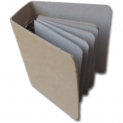 Maya Road Chipboard Binder 10cm x 13cm -(6) 7.6cm x 11cm Pages