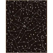 Hero Arts Mounted Rubber Stamps 11cm x 14cm -Reverse Constellation Background
