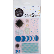 AHA Arts Clear Stamps 10cm x 15cm Sheet-Moon Phases