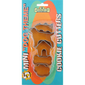 Cookie Cutters 5/Pkg-Mini Dog Theme