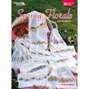 Leisure Arts-Spring Florals For Fingertips