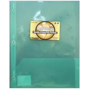 3 Prong Poly Portfolio 2 Pockets 24cm x 29cm -Assorted Colours