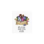 Stamping Bella Cling Rubber Stamp 8.3cm x 11cm -Uptown Girls Beatrice & Barbara