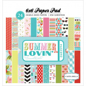 Carta Bella Paper Company Summer Lovin' Paper Pad for Scrapbooking