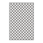 Nellie's Choice Embossing Folder A4-Gauze