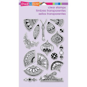 Stampendous Perfectly Clear Stamps 10cm x 15cm Sheet-Penpattern Repeat