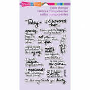 Stampendous Perfectly Clear Stamps 10cm x 15cm Sheet-Discover Today