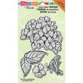 Stampendous Jumbo Cling Rubber Stamp 18cm x 13cm Sheet-Hydrangea Garden