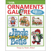 Leisure Arts-Ornaments Galore, Volume 2