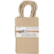 Paper Bags 8.3cm x 13cm X8.950cm 13/Pkg-Kraft
