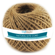 Natural Jute Cord 3ply 80g-