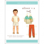 Oliver + S Patterns-Nature Walk Pullover & Knit Pants