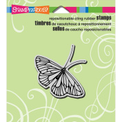 Stampendous Cling Rubber Stamp 8.9cm x 10cm Sheet-Butterfly