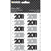 Class Act Self-Adhesive Metal Accents 12/Pkg-2011