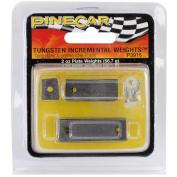 Pine Car Derby Weights 60ml-Tungsten Incremental Weight(TM) Plate