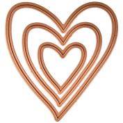 Creatopia Shapez Die By Spellbinders-Heart, 4.4cm To 11cm