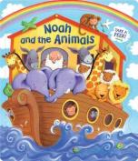 Noah and the Animals (Open Door Book) [Board book]