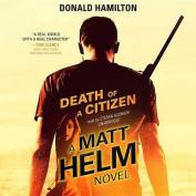 Death of a Citizen (Matt Helm) [Audio]