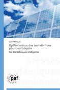 Optimisation Des Installations Photovoltaiques  [FRE]
