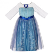 Disney Frozen - Elsa's Dress - Girls Size 4-6X
