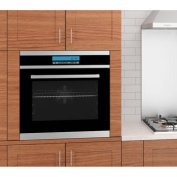 Ancona | 60cm Built In Wall Oven | 10-Function Controls with Lock | Speedcook Mode & Defrost