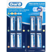 Oral-B Precision Clean Replacement Brush Heads 8-pack