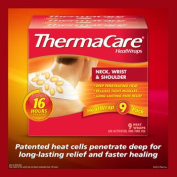 ThermaCare® HeatWraps Neck, Shoulder and Wrist Wraps