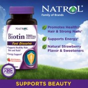 Natrol® Biotin 5,000 mcg, 250 Fast Dissolve Tablets