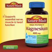 Nature Made® Magnesium 400 mg, 150 Liquid Softgels