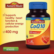 Nature Made CoQ10 400 mg, 60 Softgels
