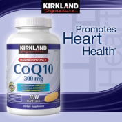 Kirkland Signature™ CoQ10 300 mg., 100 Softgels