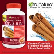 trunature® Advanced Strength CinSulin®, 170 Capsules