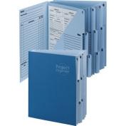 Smead Project Organiser Expanding File 10-Pocket Letter Navy SMD 89200