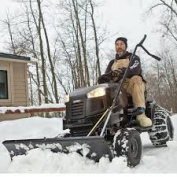 AGRI-FAB, Inc. 24441 Craftsman Lawn Tractor Snow Blade 36cm  High