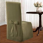 United Curtain Co. Metro Parson Chair Slipcover Colour